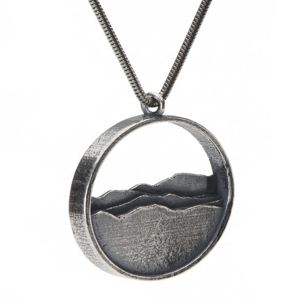 High peaks region mountain pendant