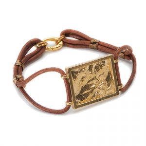 Topographical Map bracelet