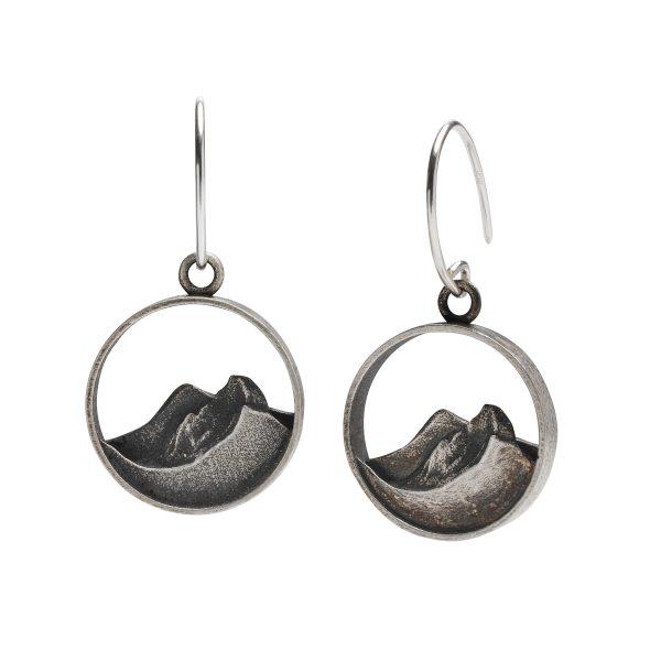 Half Dome landscape earrings