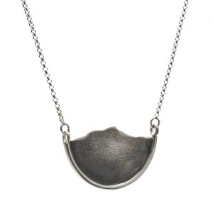 Mountain necklace sterling
