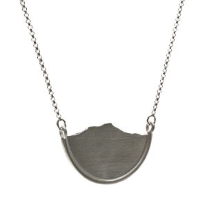 Large mountain necklace