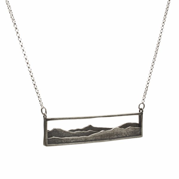 High Peaks layered pendant