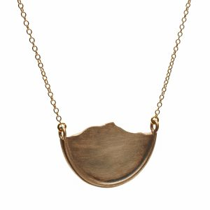 Camel's hump Necklace bronze