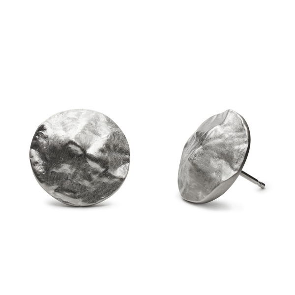 Picture of topographic map earrings